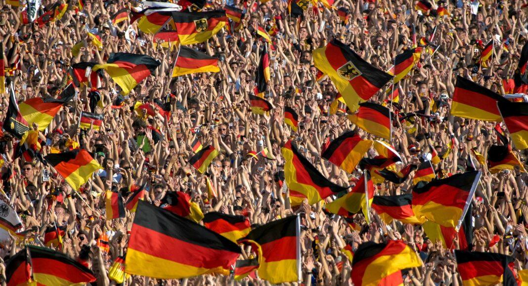 dav, Německo, stávka