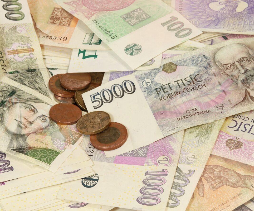 měny, koruna, peníze
