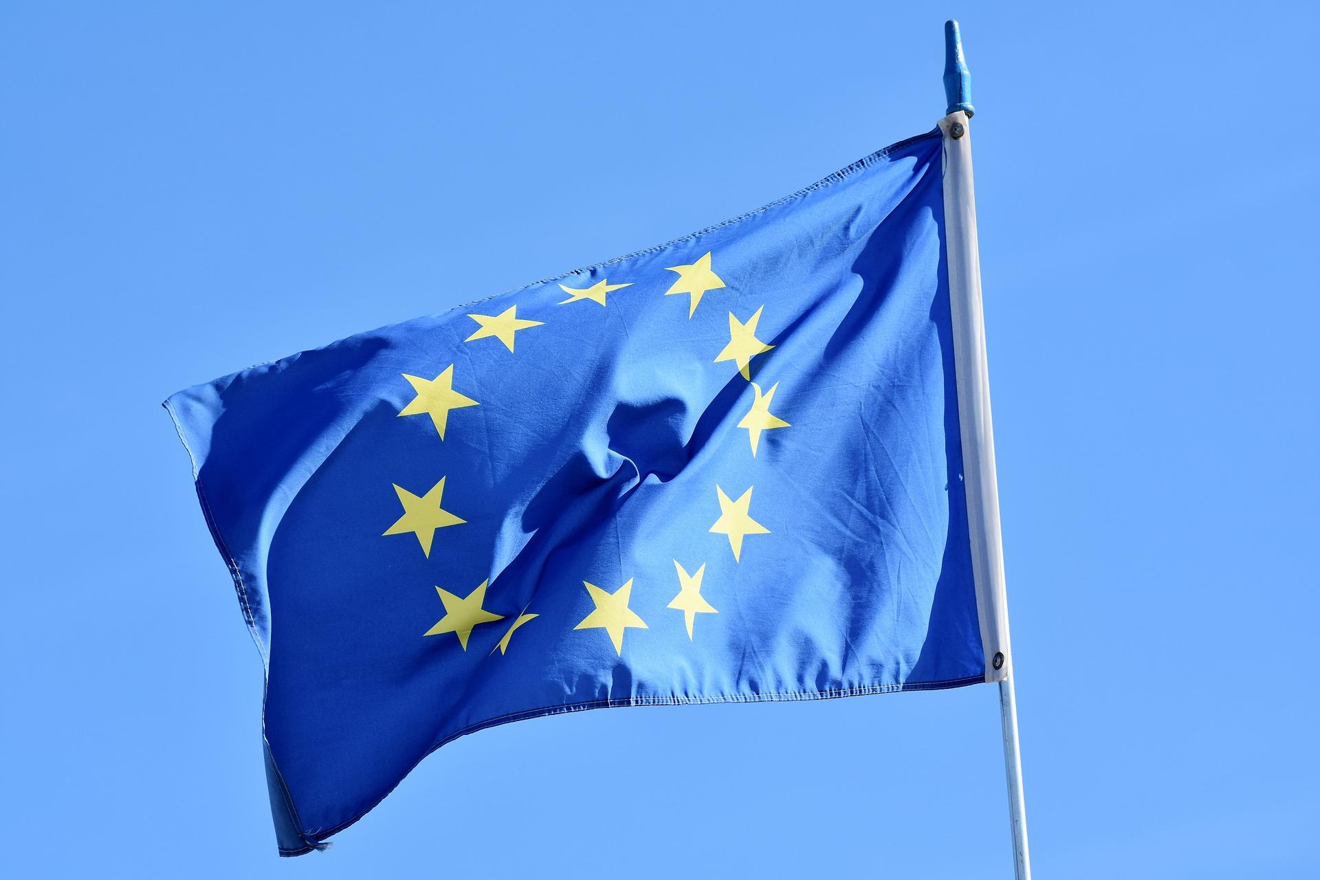 EU vlajka, evropská unie, evropa