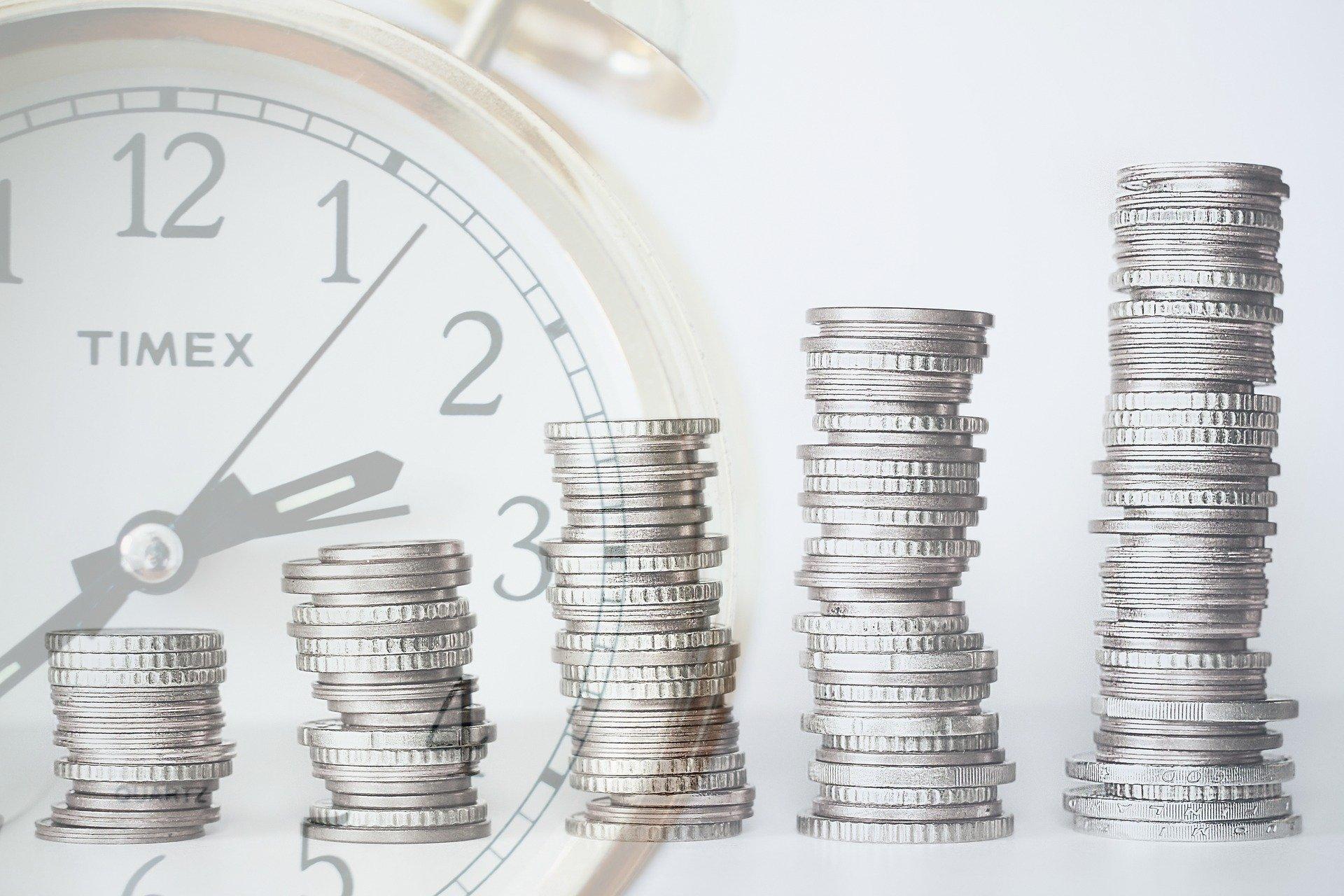 investice, růst, zhodnocení, peníze