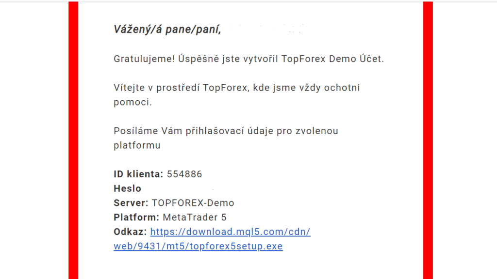 topforex demo