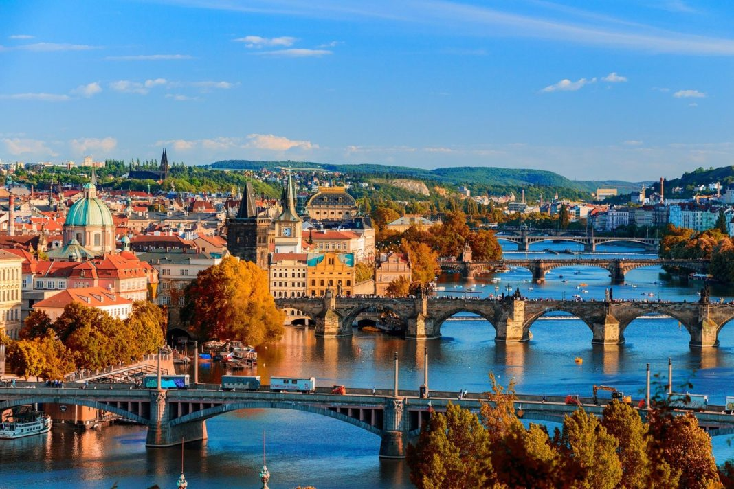 bridges, praha, ČR, Česko