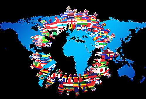 vlajky, svět, WTO