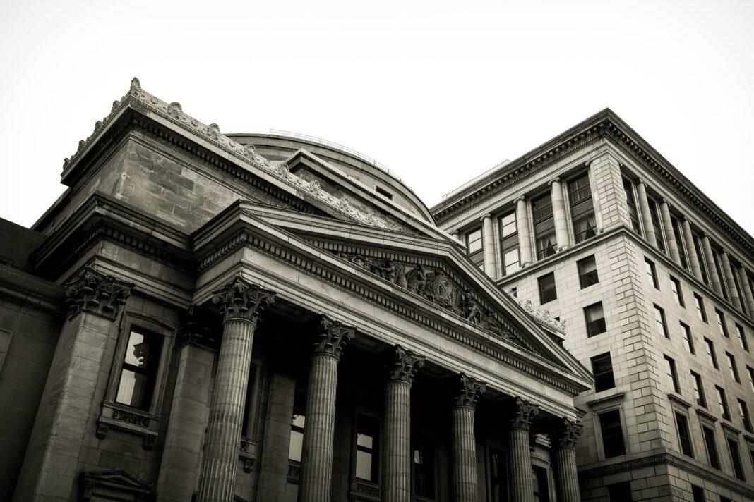 banka, budova, architektura
