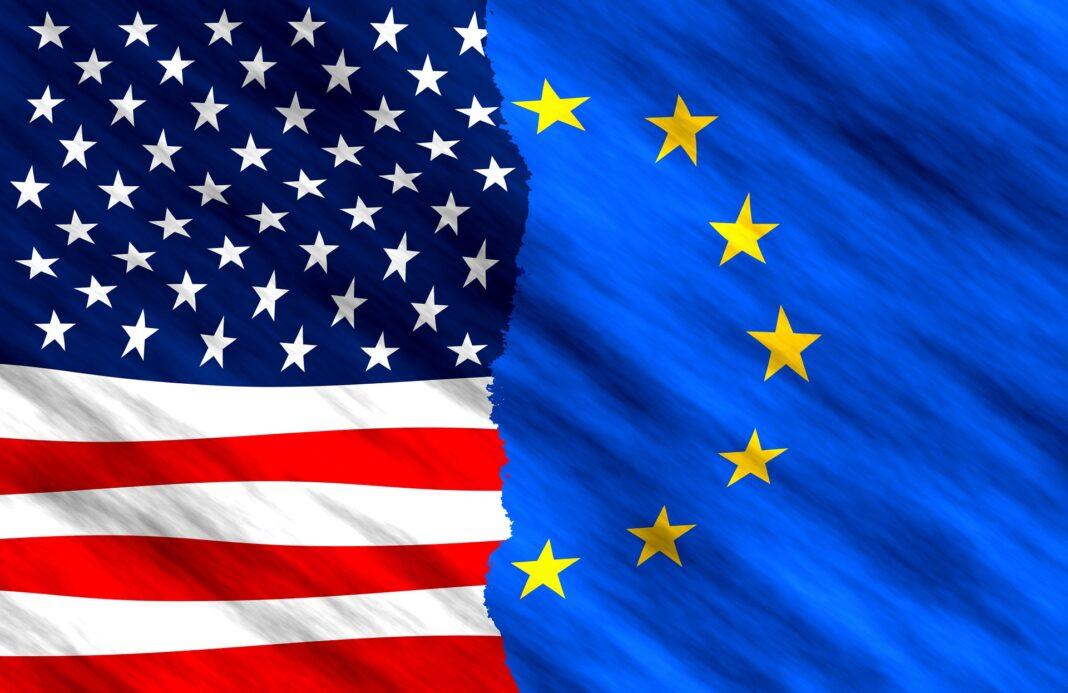 evropa, usa, amerika, spojené státy, evropská unie, eu