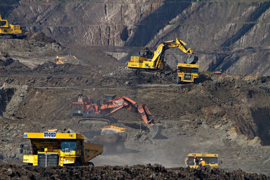 uhlí, těžba