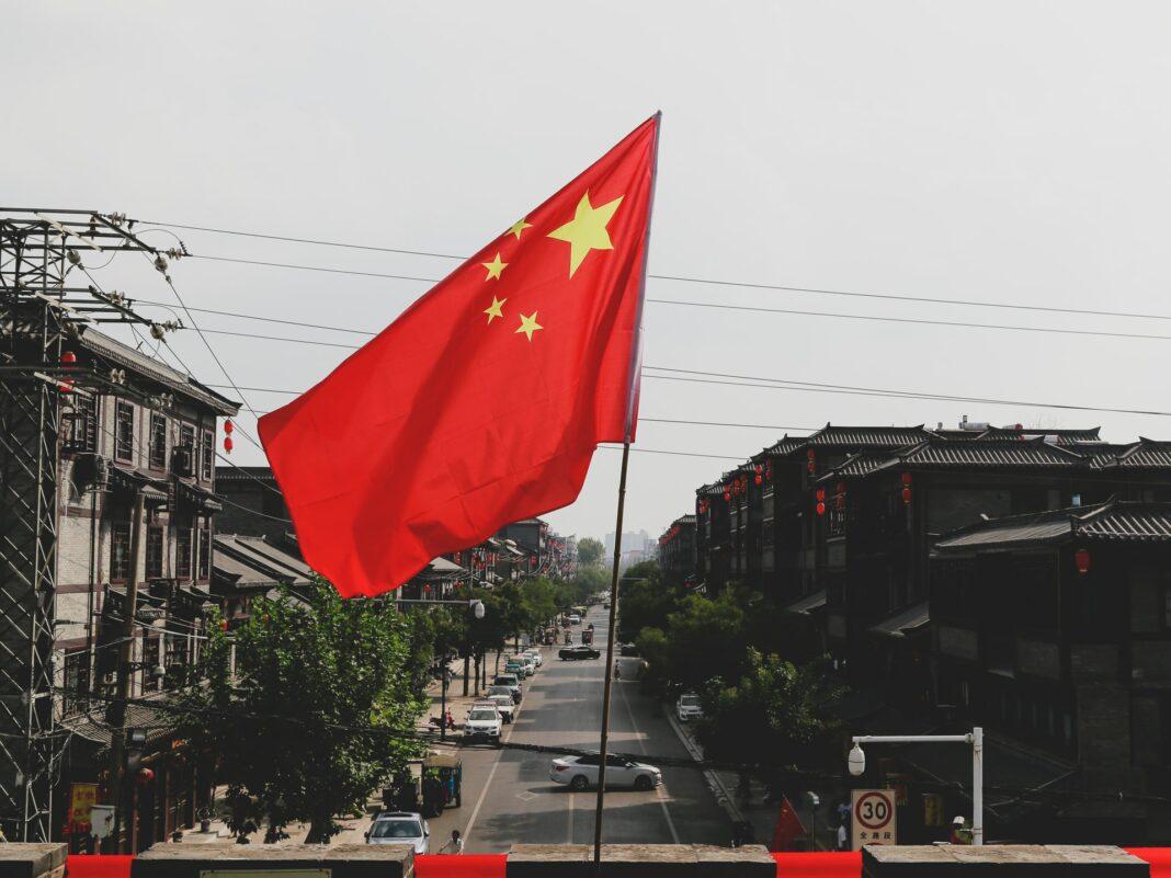 čínská vlajka, Čína, dovoz zboží z Číny