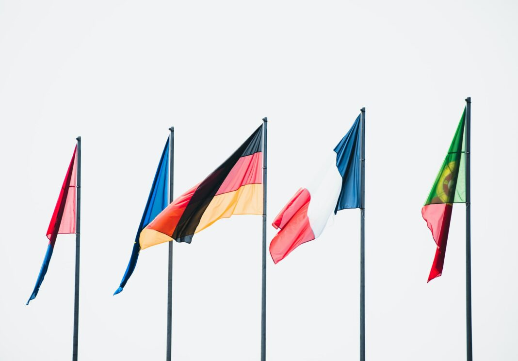 evropské vlajky, evropa, eu