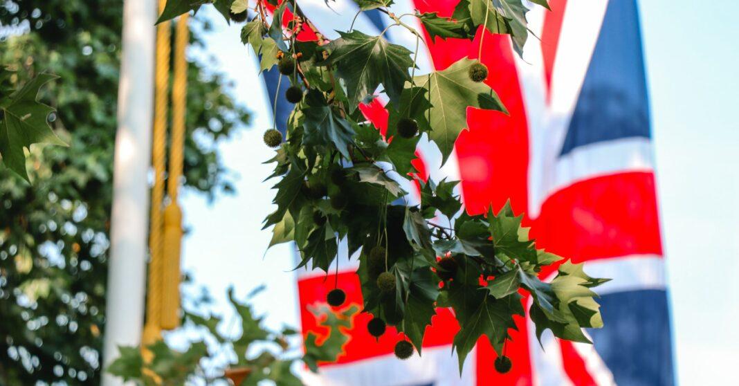 Velká Británie, Anglie, vlajka