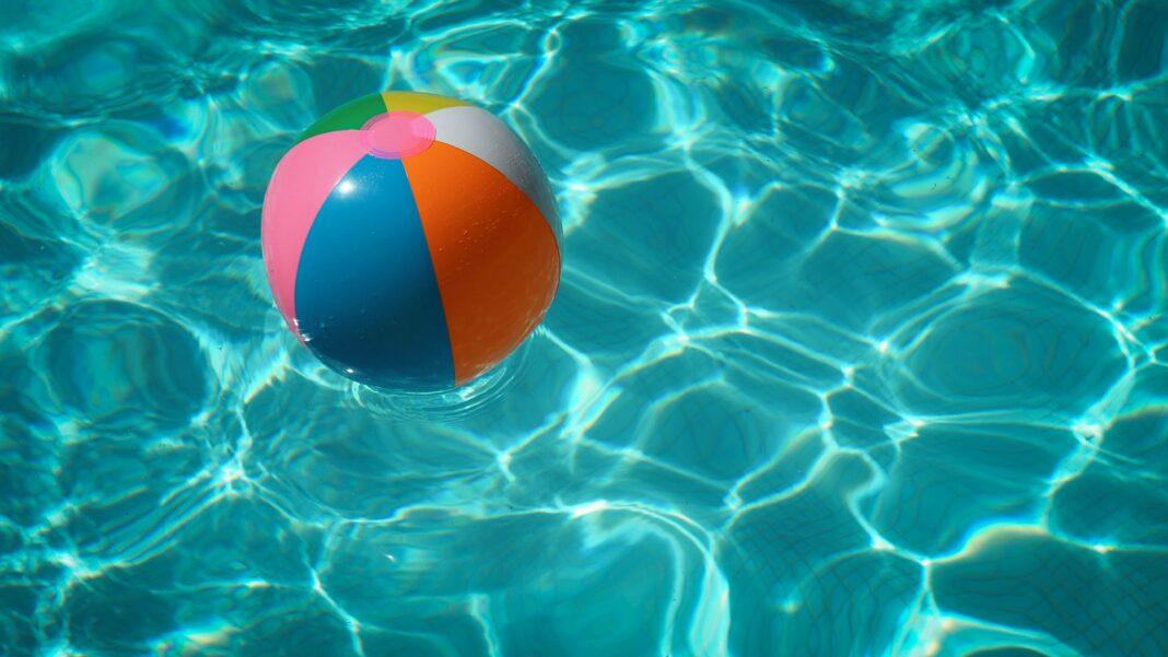 bazén, voda, dovolená